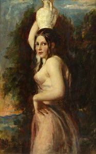William Etty - le eau Porteuse