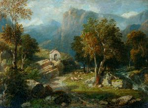 William Havell - paysage