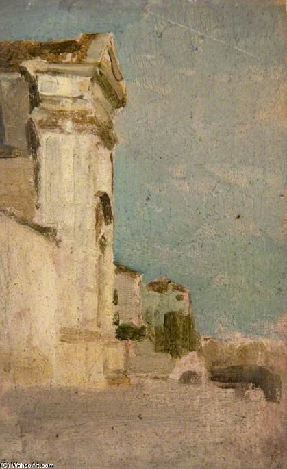 Venise , le long de la Zattere de William Heath Wilson (1849-1927, United Kingdom) | Reproductions De Peintures William Heath Wilson | WahooArt.com