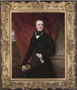 Francis Grant - portrait de Monsieur creswell creswell