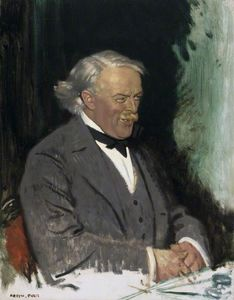 William Newenham Montague Orpen - david lloyd george -