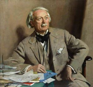 William Newenham Montague Orpen - david lloyd george , 1st Comte Lloyd-george