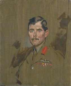 William Newenham Montague Orpen - Le major-général Hugh Trenchard M.