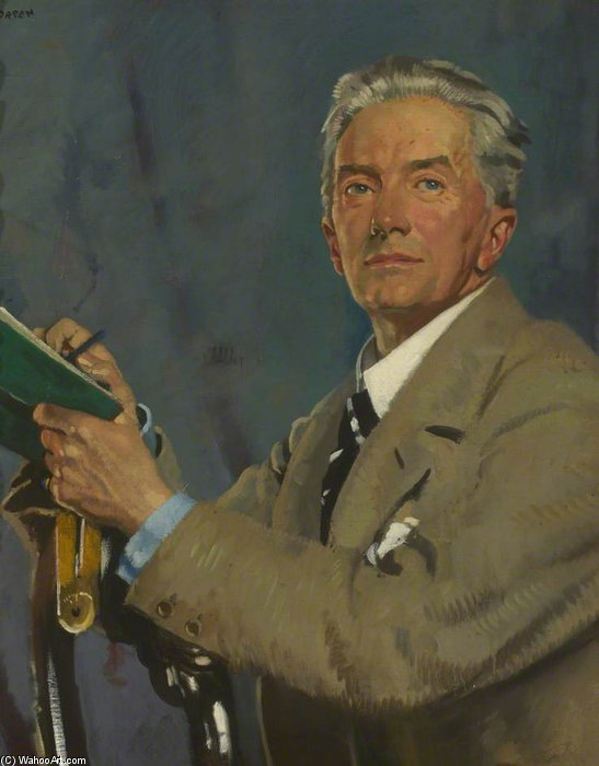 paul waterhouse de William Newenham Montague Orpen (1878-1931, Ireland) | Reproductions De Qualité Musée | WahooArt.com