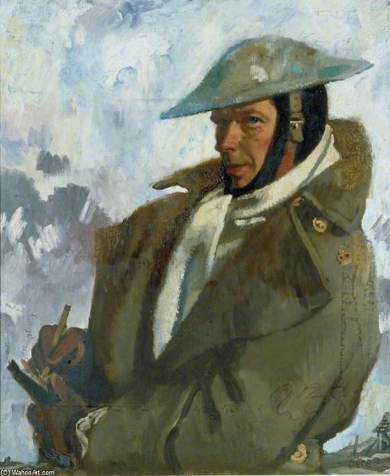 autoportrait de William Newenham Montague Orpen (1878-1931, Ireland)
