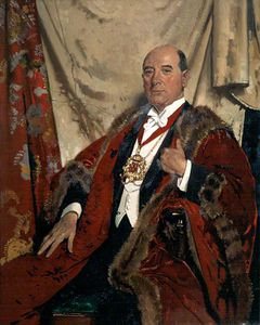 William Newenham Montague Orpen - Monsieur andrew lewis , Lld , lord provost d aberdeen