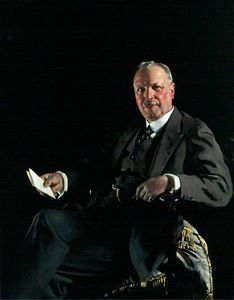 William Newenham Montague Orpen - Monsieur thomas jaffrey , Bt , Lld , Président of aberdeen galerie dart Comité