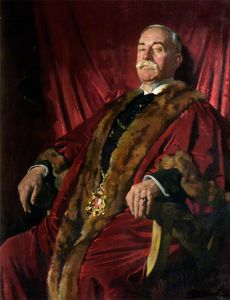 William Newenham Montague Orpen - Monsieur william meff , lord provost d aberdeen