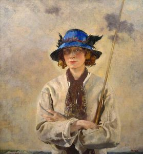 William Newenham Montague Orpen - Le Angler