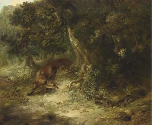 George Armfield (Smith) - lapin chasse