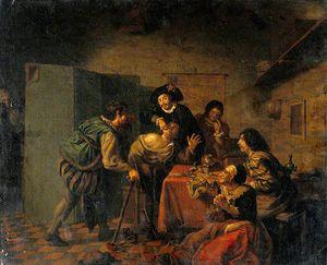 Galerie jan josef horemans the elder belgium 1682 for Horemans interieur