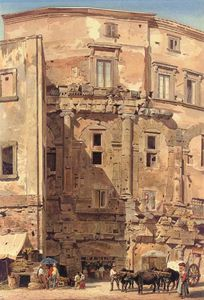 Thomas Hartley Cromek - Le Teatro Marcello, Rome, Italie