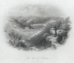 William Henry Bartlett - le vale de tintern , de l Devil's Pupitre