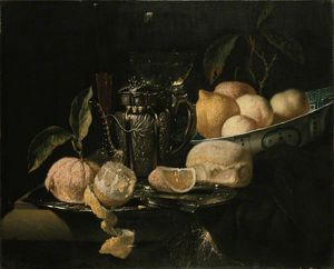 Juriaen Van Streeck - Nature morte avec des fruits