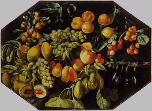 Luca Forte - nature morte des fruits