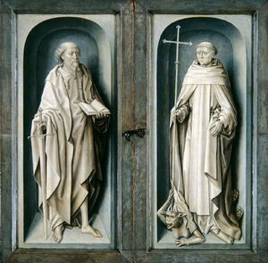 Master Of The Legend Of Saint Ursula - r paul et r `benedict`