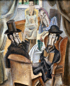 Max Weber - le `jewish` musée, new york