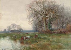 Henry Charles Fox - Une Mare sur l Ouse