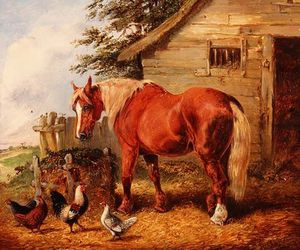 Henry Thomas Alken - Outside The Stable