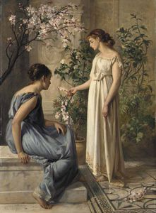 Henry Thomas Schafer - Fleurs de printemps