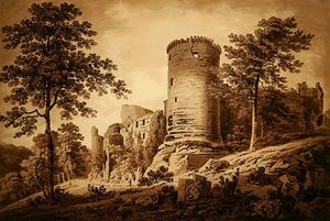 Hugh William Williams - château du Ruines