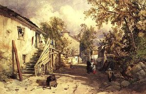 James Burrell Smith - village of bowness