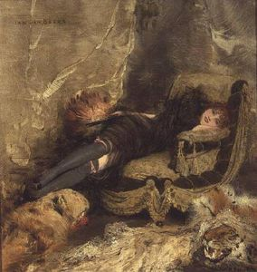 Jan Van Beers - La courtisane -