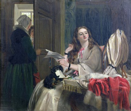 Morn Saint-Valentin de John Callcott Horsley (1817-1903, United Kingdom)