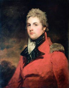 John Hoppner - major général Monsieur Henri willoughby rooke