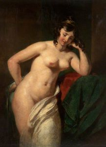 William Etty - nu féminin -   8