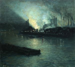 Aaron Harry Gorson - Pittsburgh industrielle Nocturne
