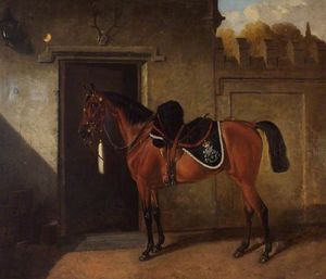 Alfred Wheeler - -may Queen- , Bain Troupe , somerset nord yeomanry Cavalerie