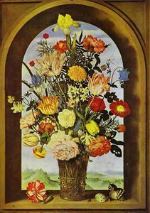 Ambrosius Bosschaert The Younger - Bouquet de fleurs