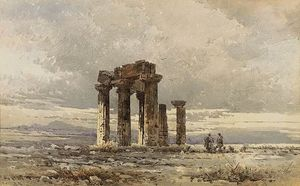 Angelos Giallina - Shepperds à l Ruines