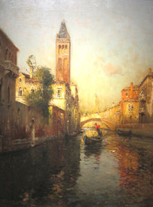Antione Bouvard - Gondolier -