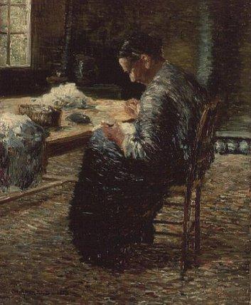 Portrait de la mère de l artiste couture de Charles ...
