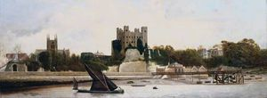 Charles Spencelayh - Rochester Château