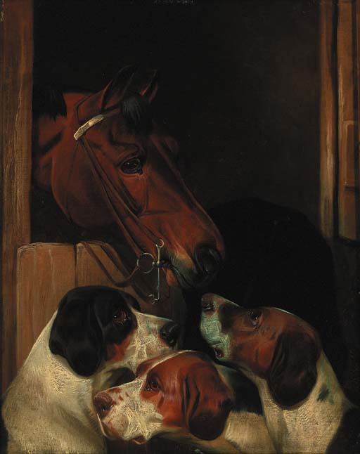 Mates stables de Colin Graeme Roe (1858-1910, United Kingdom)