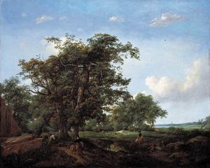 Cornelis Hendricksz The Younger Vroom - Paysage pastoral