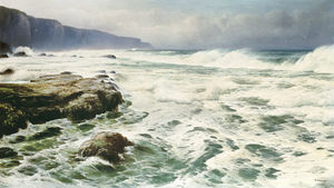 David James - Breaking Waves On A Rocky Shoreline