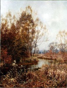 Edward Wilkins Waite - Autumn's l'or et Argent
