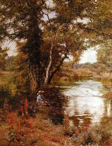 Edward Wilkins Waite - DE PECHE