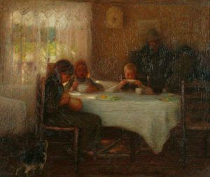 Edward William Stott - dimanche matin