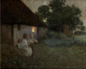 Edward William Stott - Le Labourer-s Chalet