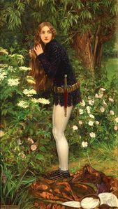 Eleanor Fortescue Brickdale - Le petit page Pied