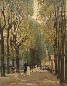 Emanuel Phillips Fox - Le Boulevard