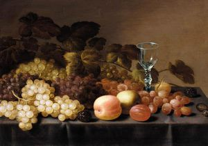 Floris Van Schooten - nature morte de  fruits