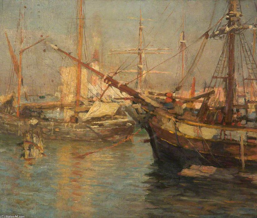 à venise de Frederick William Jackson (1843-1942, United States) | Reproduction Peinture | WahooArt.com