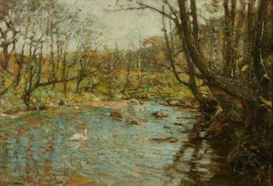 Frederick William Jackson - le ruisseau