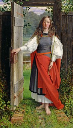 la foi de George Dunlop Leslie (1835-1921, United Kingdom)